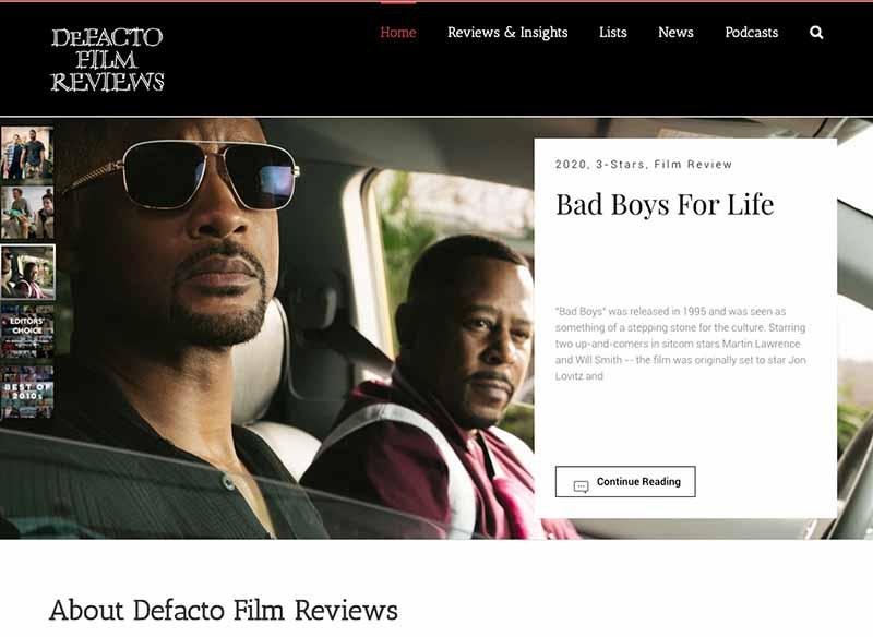DeFacto Film Reviews