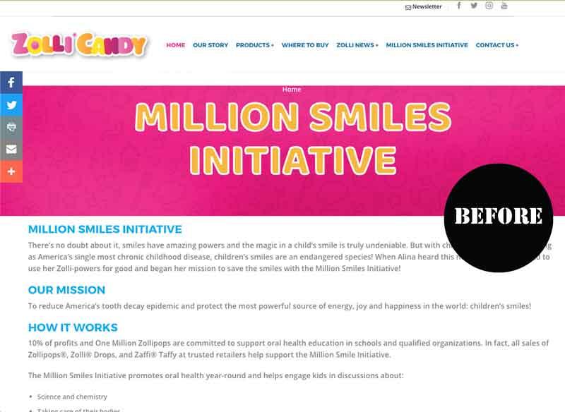 Million Smiles Initiative old
