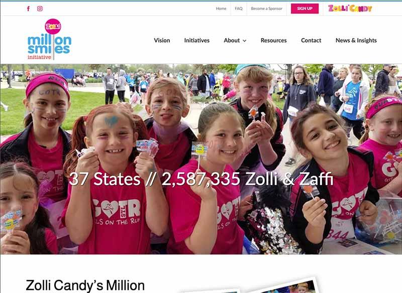 Zolli Million Smiles Initiative